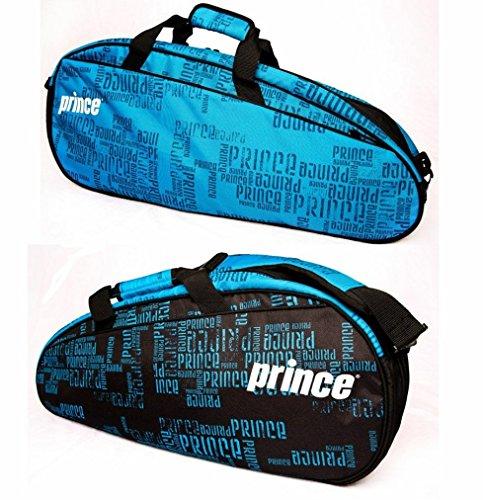 Prince Tennistasche Club 6Stück, schwarz / blau