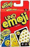 UNO Emoji Jeu de Société et de Cartes, DYC15
