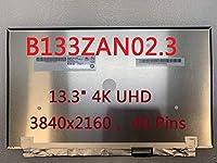 POWVAN B133ZAN02.3 交換用スクリーン 13.3インチ UHD 4K 3840X2160 IPS B133ZAN02.3 LCD