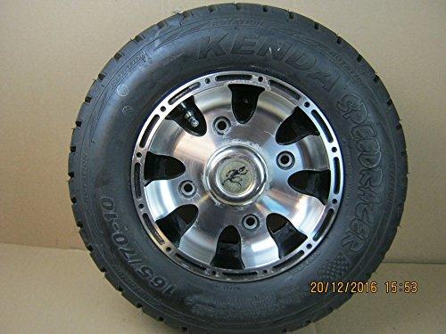 Triton Vorderrad Alu mit Reifen 165/70-10 für 400, 450 Supermoto