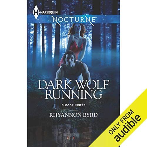 Dark Wolf Running audiobook cover art