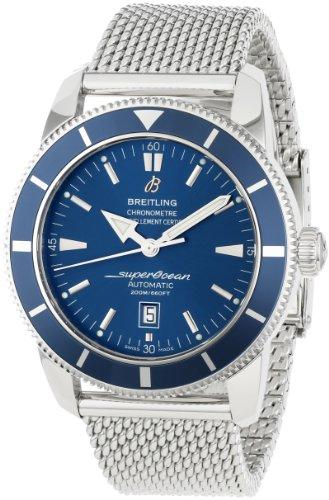 Breitling A1732016/C734SS Reloj de Hombre con Esfera Azul Superocean Heritage