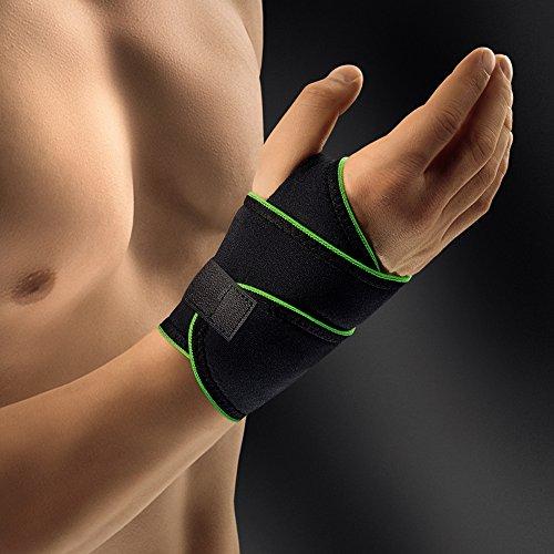 Bort 1410SP ActiveColor Sport Handgelenkbandage Links - schwarz