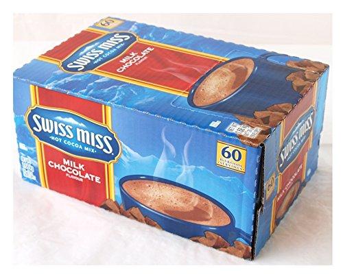 コナグラフーズ SwissMiss スイスミス ミルクチョコレートココア 28g×60袋×96箱 ConAgraFoods Hot Cocoa Mi× インスタントココア [2099]