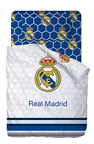 Real Madrid Juego De Sabanas 3 Piezas 160x270 + 90x200/25