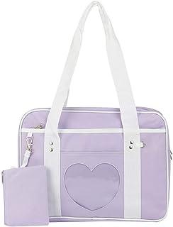 Ita Bag Heart Shape Window Japanese Handbag JK Bag Girls Purse Satchels for Lolita Comic DIY