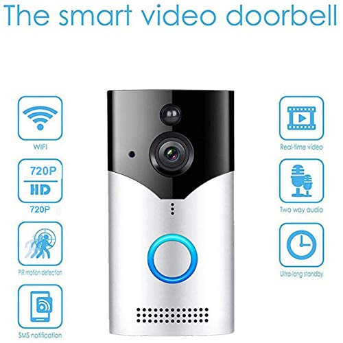 YAOLAN Wireless Video Doorbell Camera with 720P HD, Smart Motion Detection, Best for Home Security and Easy Installation