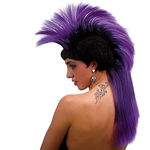 Carnaval Juguetes 2806 - Punk Peluca, púrpura