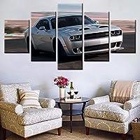 Lienzo 5 Partes Tupac Amaru Shakur artística para paredlienzos decoración defondo del Dormitorio-No Frame-110x60Cm