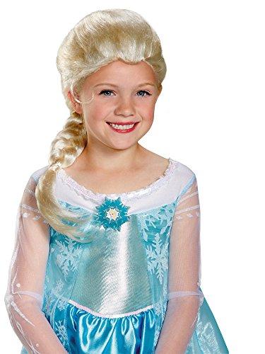 Disguise Disney Frozen Elsa's Costume Perruque