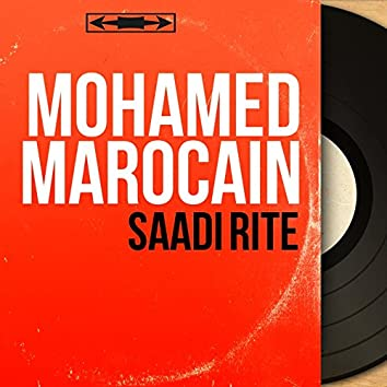 Saâdi Rite (Mono Version)