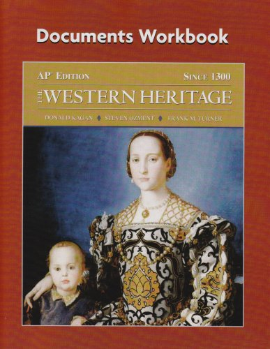 The Western Heritage Since 1300: Ap* Edition, Documents