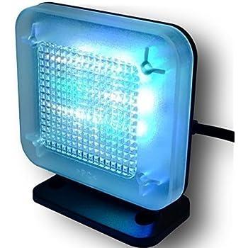 DeliaWinterfel Simulador TV con configuración Flexible, 8 Diferentes Modos de Tiempo, Pantalla Digital, Seguridad para la casa, Sensor de luz Ambiental y tempori by: Amazon.es: Hogar