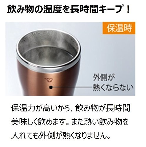 ZOJIRUSHI『ステンレスタンブラーSX-DN45』