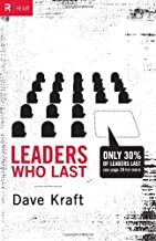 By Dave Kraft - Leaders Who Last (Re: Lit Books) (1/29/10)