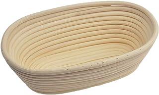 + free liner +Lame de Baker o Grignette libre Banneton pruebas cesta 10redondo Banneton Brotform cuenco de rat/án para 25cm masa de pan y cepillo hasta 1000g Borradores de aumento