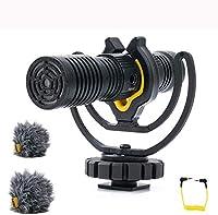 Dual-Nierencharakteristik: Design mit zwei Mikrofonen. Mit seinem einzigartigen Dual-Kapsel-Design ermöglicht das D4-Duo zum ersten Mal die Audiowiedergabe hinter der Kamera in voller Wiedergabe aufzunehmen 3,5-mm-Aux-Eingang: Der 3,5-mm-Aux-Eingang ...