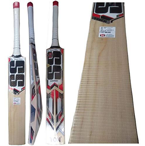 SS 100% Original Tiger English Willow Cricket Bat con entrega rápida
