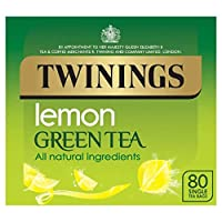 Twinings Pure Green L & D Lemon 80 Bag (order 4 for trade outer) / トワイニングピュアグリーンのL WWWW Dレモン80袋(商品アウターため4 )