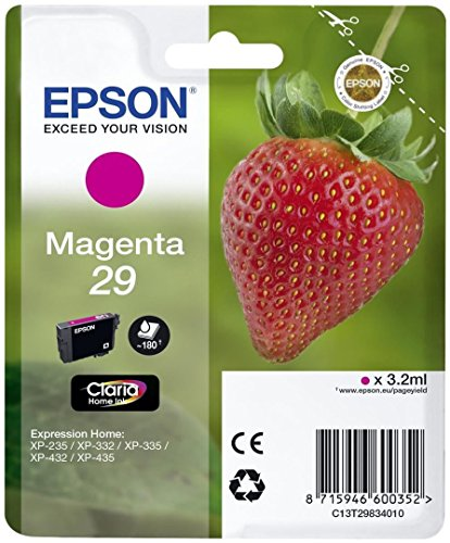 c13t29834022 – sglpck Magenta 29 Home Ink Single Pack magenta 29 Claria Home Ink