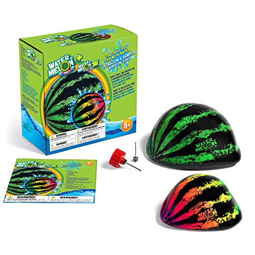 Watermelon Ball Combo Pack | The Ultimate Swimming Pool Game | Pool Ball for Under Water Passing, Dribbling, Diving and Pool Games for Teens, Kids, or Adults Illinois