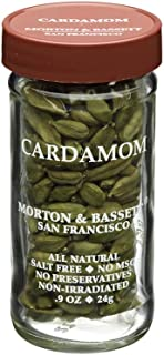 Morton & Bassett Cardamon, Ground, 1.9-Ounce Glass Jar-