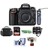 Nikon D750 FX-Format Digital SLR Body Only Camera - Bundle with Camera Bag, 32GB Class 10 SDHC Card, Remote Shutter Trigger, Cleaning Kit, SD Card Case, SD Card Reader, Mac Software Package