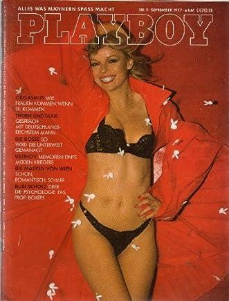 Playboy Magazin September 1977 Zeitschrift Original Deutsche Ausgabe 9/1977 AMANDA LEAR, GERMAINE TALBOT