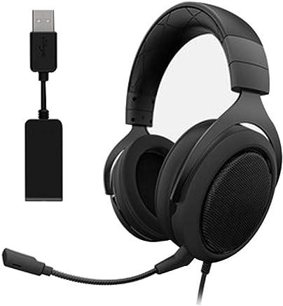Cuffie da Gioco, Driver Audio Leggeri, Audio Surround 7.1, Cuffie Over Ear con Microfono a cancellazione di Rumore (per PC, PS4, Switch, Xbox One, VR)-Black - Trova i prezzi più bassi