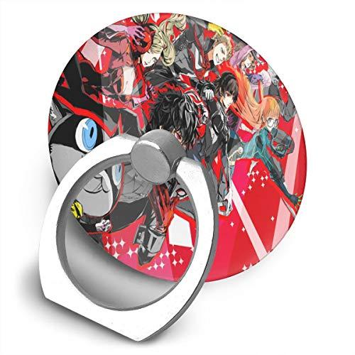 N / A Persona 5 Handyhalter Fingerring 360 ?Umweltfreundliches Handy Mobile Phone Handy Rund Und Praktisch.