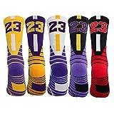 Elite Basketball Socks Athletic Socks Cushion Compression Socks for Men Women youth