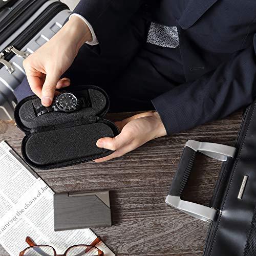 IGIMI(イギミ)腕時計収納携帯用1本収納ウォッチケースブラック黒旅行・出張の持ち運びに便利BI324197正規輸入品