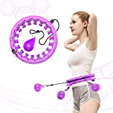 NGC-C Weighted Hula Hoop for Adults Beginners do not...