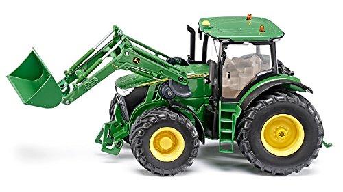 RC Auto kaufen Traktor Bild 2: DEMA John Deere 7R mit Frontlader, Fernsteuermodul/6777*