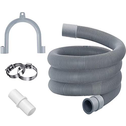 Ablaufschlauch,1.5M Ablaufschlauch für Spülmaschinenschlauch,Ablaufschlauch für Waschmaschinen,Ablaufschlauch Verlängerung ,Ablaufschlauch Verlängerung ,Verlängerung Ablaufschlauch (1.5m)