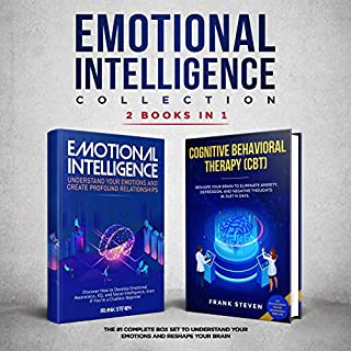Emotional Intelligence Collection 2-in-1 Bundle: Emotional Intelligence + Cognitive Behavioral Therapy (CBT) audiobook cover art
