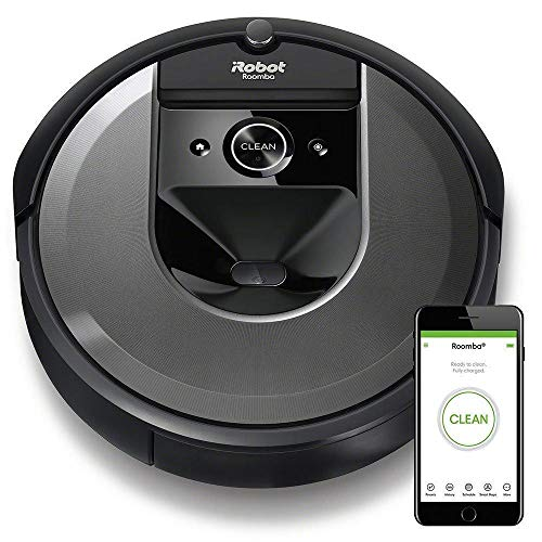 New iRobot Roomba i7 (7150) Robot Vacuum- Wi-Fi Connected, Smart Mapping, Compatible with Alexa, Ide...