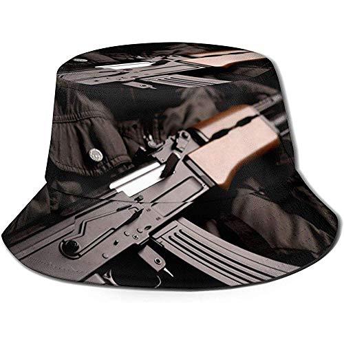 Well I do! Bucket Hat Military Sniper Gun Gewehr Eimer Hut Sommer Uv Sun Fisherman Cap Unisex für Reisen Strand im Freien