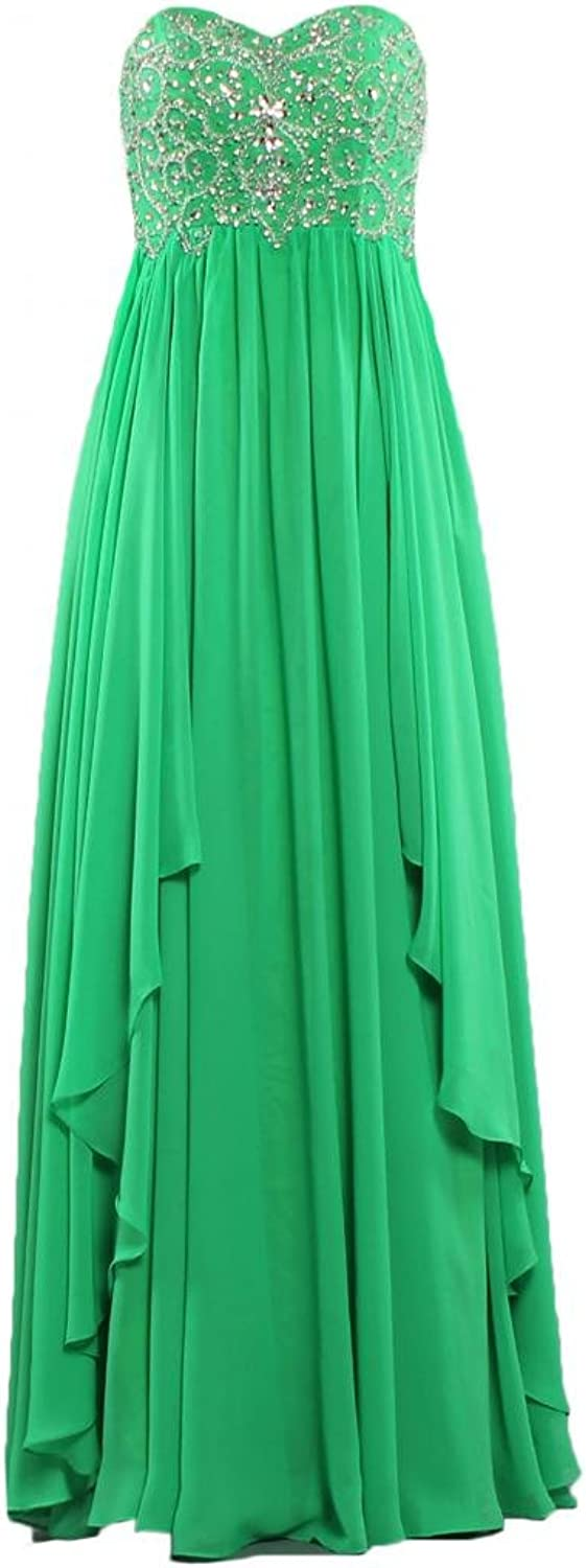 ANTS Women's Strapless Long Simple Evening Dress 2017 Prom Dresses