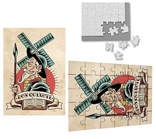 Puzzle Don Quijote 30 piezas