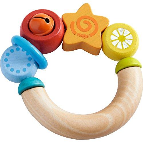 HABA Hochet « étoile » jouet à saisir, multicolore/naturel