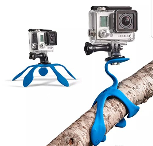 """Flexible Small Mini Camera Tripod, """"The World's Most Flexible Mount, Attaches Anywhere"""" Portable Table Stand for GoPro, Action Cameras & Compact Digital Cameras. Compact, Lightweight Waterproof"""