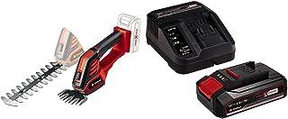 Einhell Cordless Grass and Shrub Shear GE-CG 18/100 Li Solo Power X-Change & 4512097 2.5Ah Power X-Change Starter Kit - Ba...