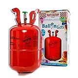 Party Factory Ballongas Helium für 30 Luftballons Heliumgas Gasflasche
