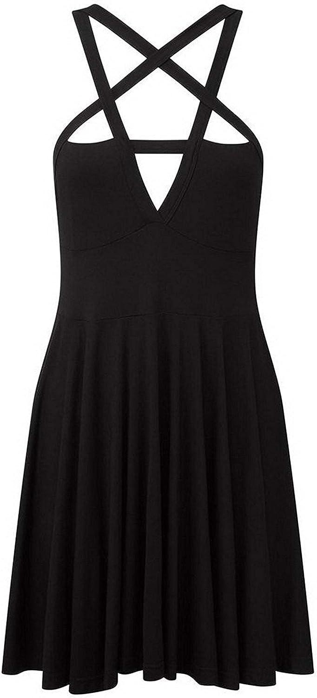 Fashion Dress Gothic Vintage Romantic Casual Dress for Women