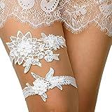 Garter for Bride Ivory Wedding Garters White Garter Wedding Cheap Wedding Garter Garter Wedding Lace