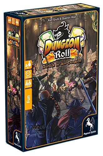 Pegasus Spiele 51935G - Dungeon Roll - Zurück in den Dungeon