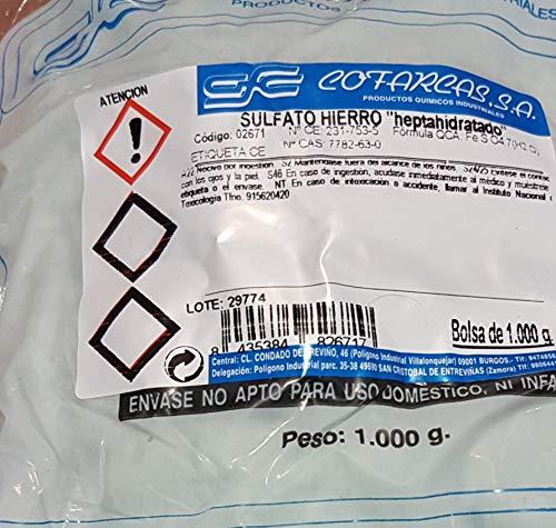 COFARCAS ALCARROSA Sulfato DE Hierro HEPTAHIDRATADO