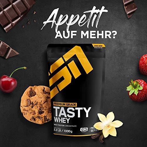 ESN Tasty Whey, Pro Series, Chocolate, 1er Pack (1 x 1000g Beutel) - 7