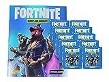 Fortnite Sticker - Serie 1 (2019) - 1 Album + 10 Booster (50 Sammel Sticker) -